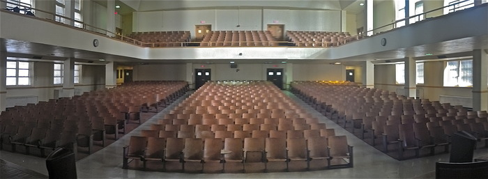 Humes High School's Auditorium - Photo: April, 2013