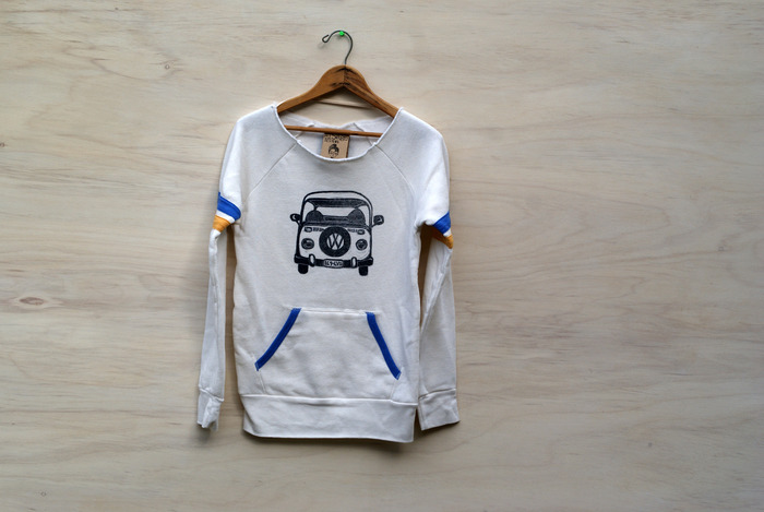VW Bus retro sweatshirt