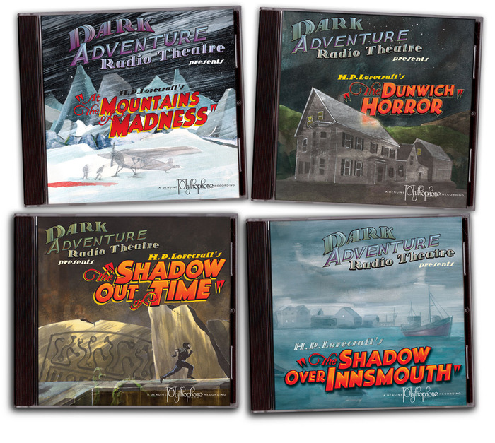 Dark Adventure Radio Theatre Collection (Box Set Contents)