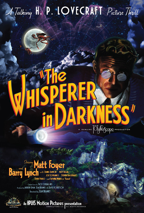 The Whisperer in the Darkness 24x36-inch Poster