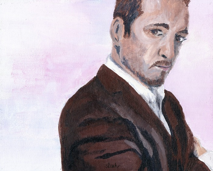"""Derren Brown wins the lottery"" by Leah Angstman"