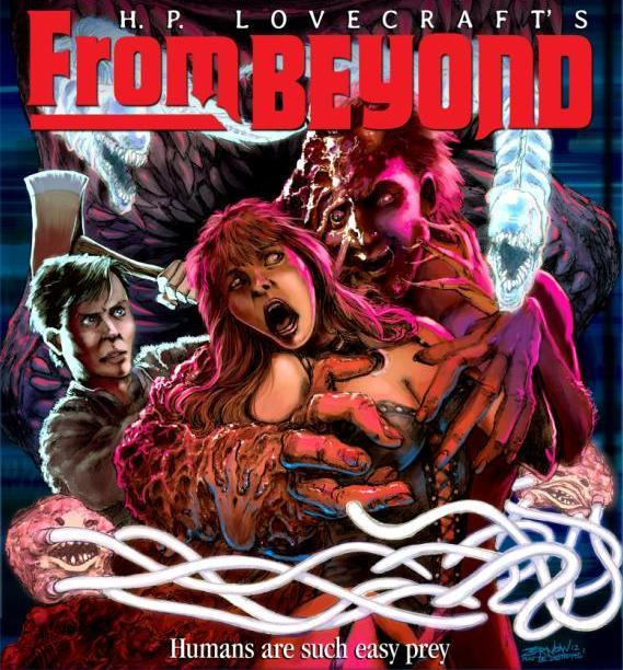 From Beyond Poster Autographed by Director Stuart Gordon (18x24-inch)