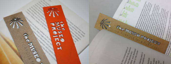 (reward) BOOKMARKS! made from discarded chipboard