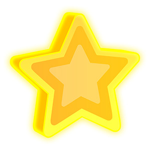 Collectable Bonus Star