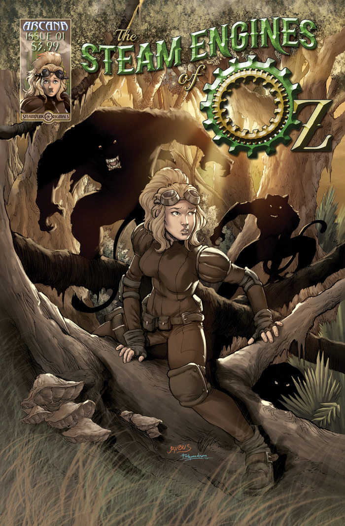 The Steam Engines of Oz Issue 1 Cover