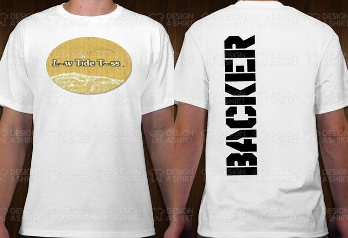 OFFICIAL BACKER T-SHIRT (WHITE)