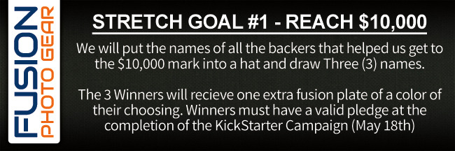 Stretch Goal #1 - Reach $10,000