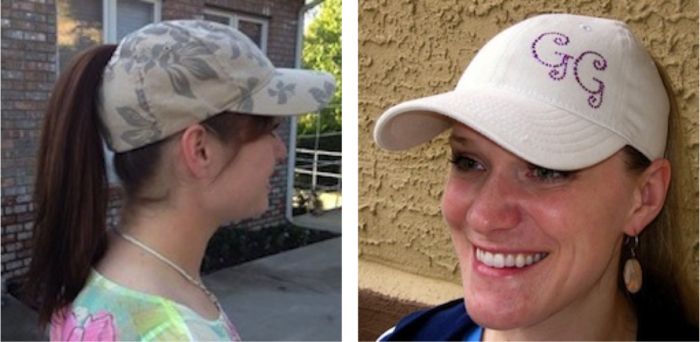 Check out these awesome ladies rockin' the single hole GG cap!