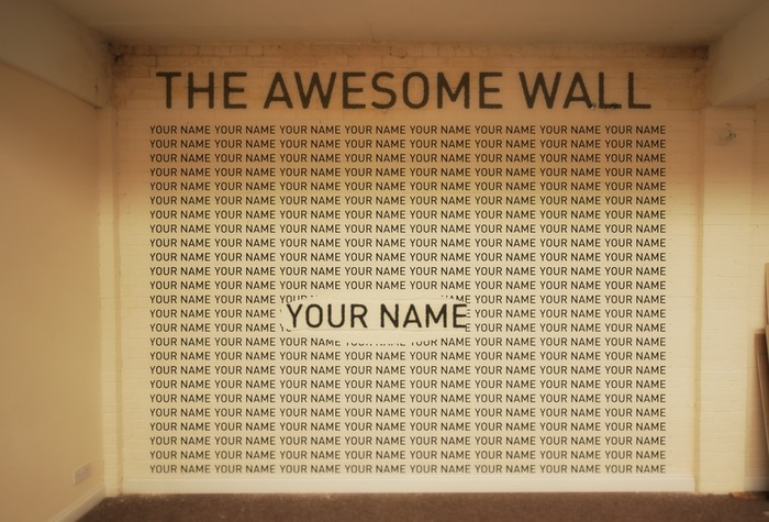 The Awesome Wall!