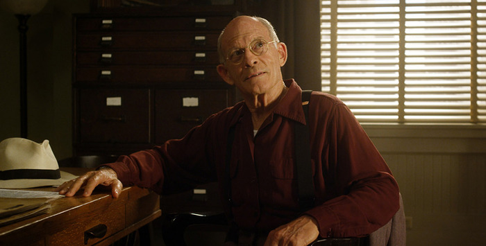 "Max Gail as Burt Shotton in ""42"""