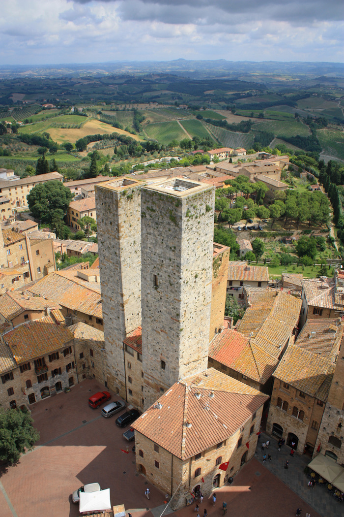 photo: medieval towers | San Gimignano, Italy