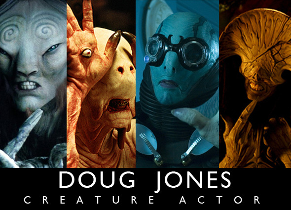 "Starring Doug Jones as ""The Demon"""