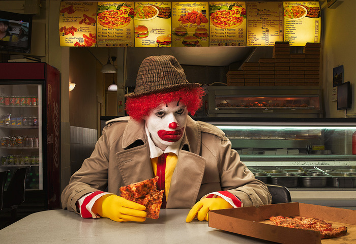 Previous shot in the series, Ronald's Dirty Secret. Won Professional Photographer of the Year 2012, Location category.