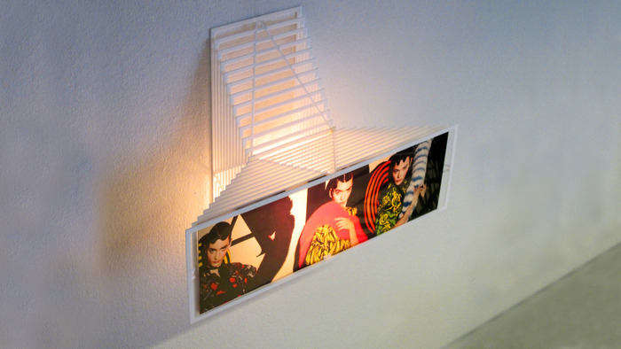 Display light on the wall