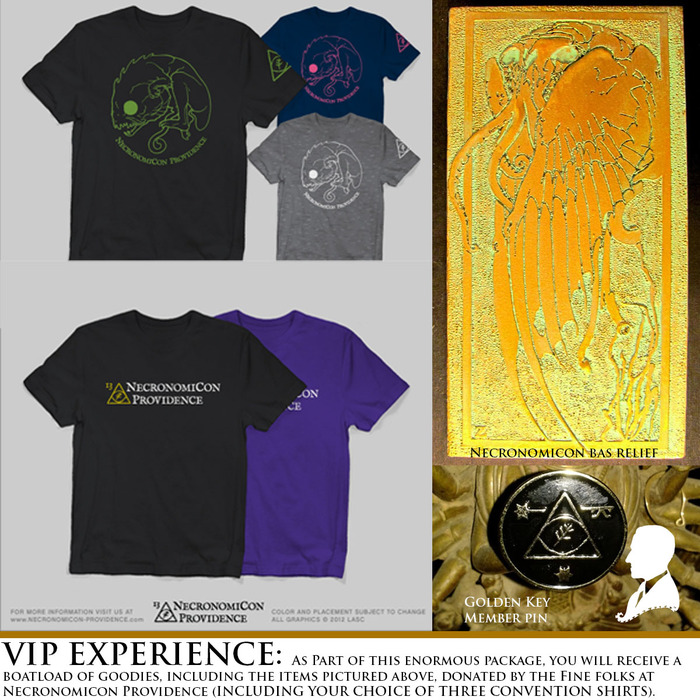 Just a few of the extras in the VIP EXPERIENCE PACKAGE.