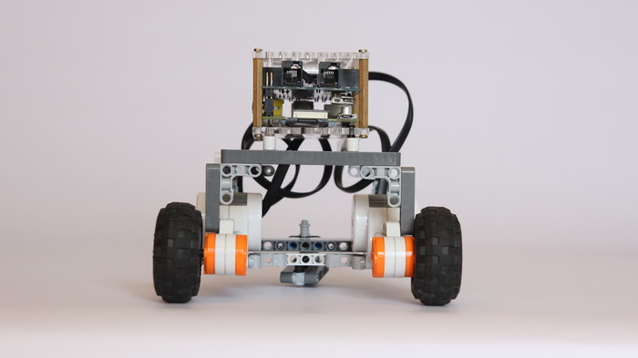 BrickPi as a Rover