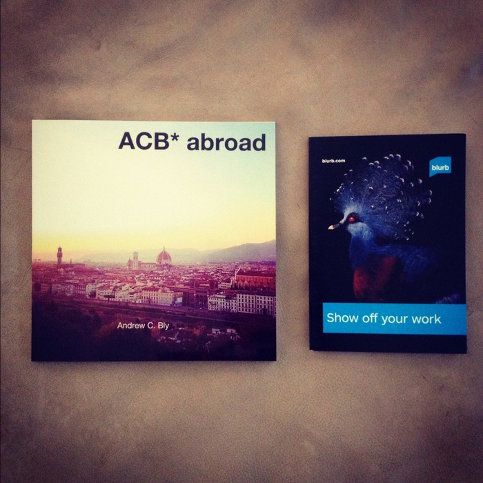 ACB* abroad | coffee table book of photos from my 2012 travels