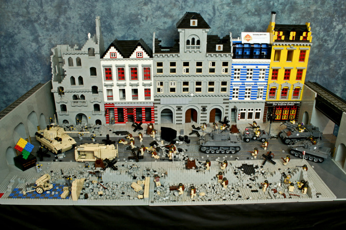 Germany 1945 Diorama (click for bigger image)