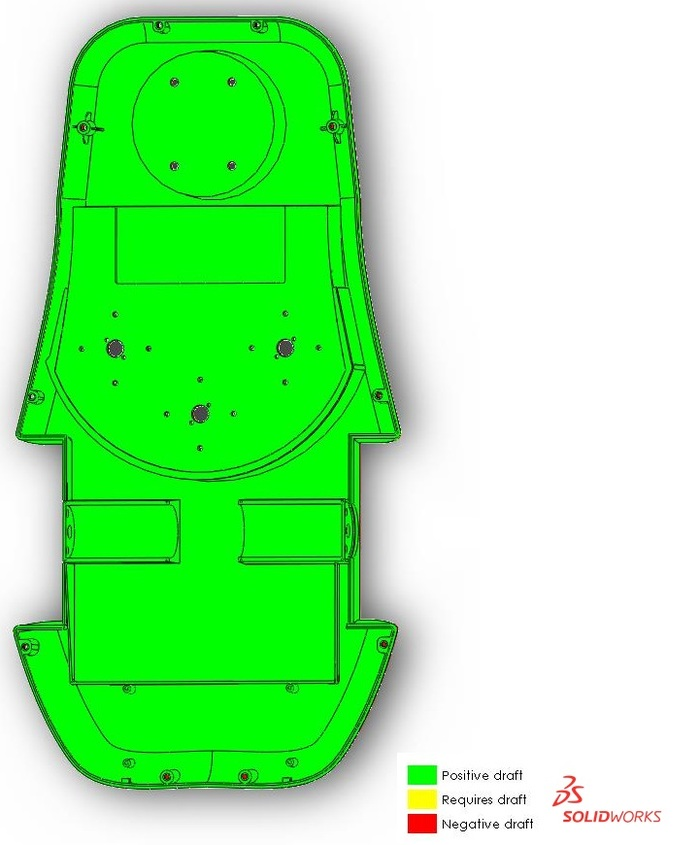 Draft Analysis for the new SmartMow bottom (top view)
