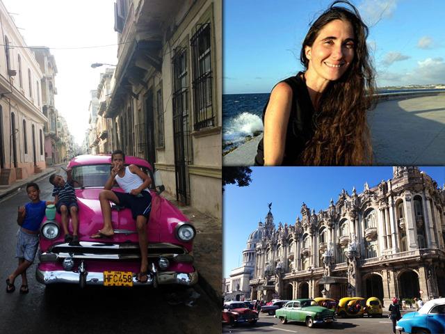 La Habana momentos y Yoani Sánchez