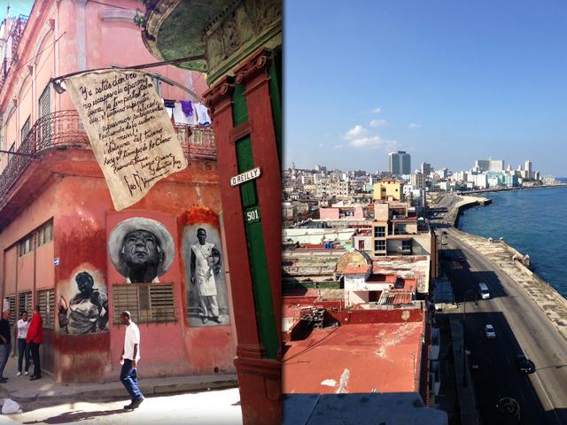 Calle O'Reilly & El Malecón - La Habana, Cuba