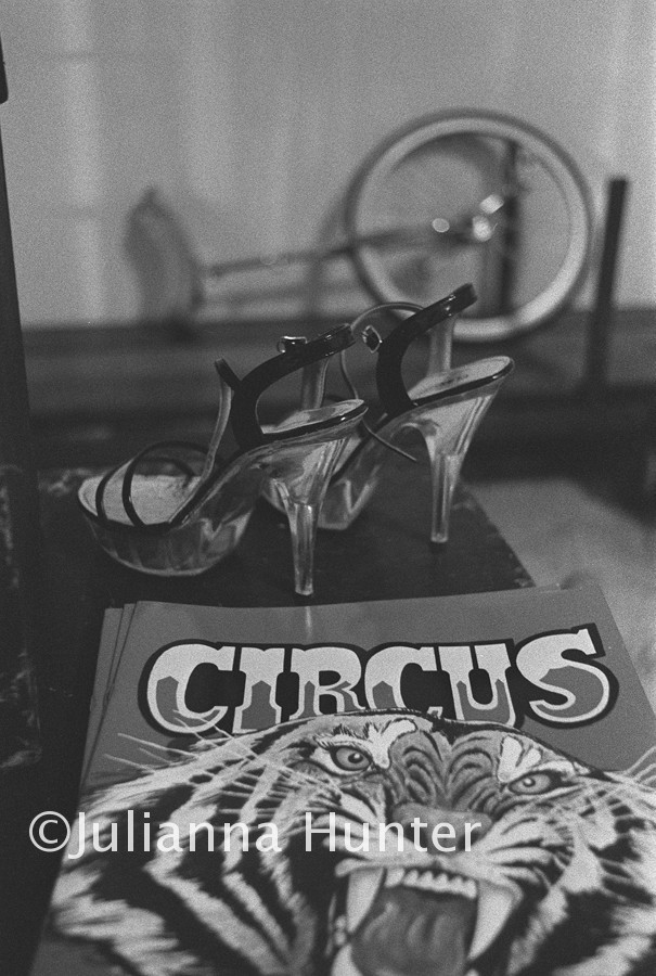 A detail image from the circus series.
