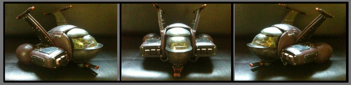 "Mini FLEA SHIP (11"" wide x 6"" tall)"
