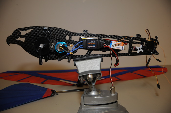 Side View (Motor, Speed Controller, and Receiver)