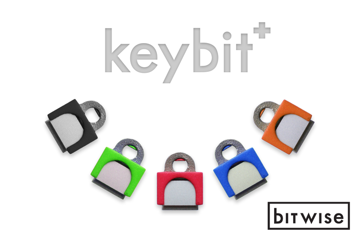 :) Mockup of different KeyBit+ colors