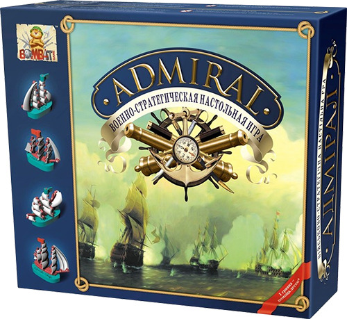 Admiral basic set box (Level 5 pledge)
