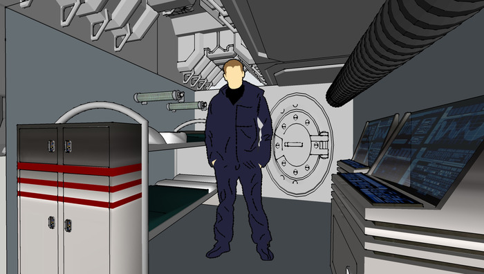 Concept Art - Ship Interior