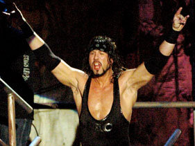 Waltman in MTV's Wrestling Society X