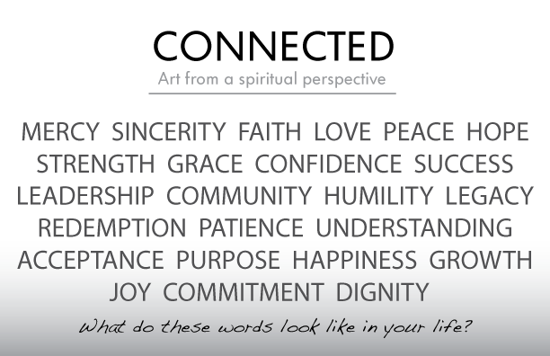 What do these words look like in your life?
