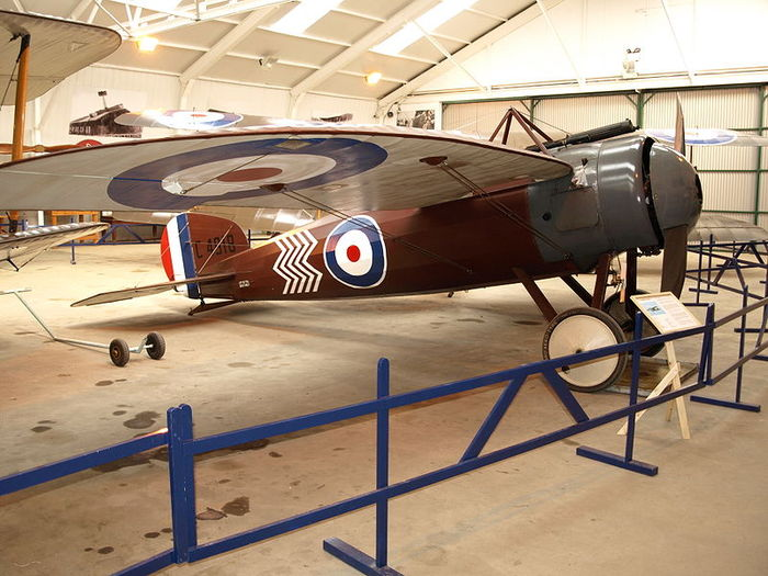 Bristol M.1 Monoplane Scout, a was a British monoplane fighter.