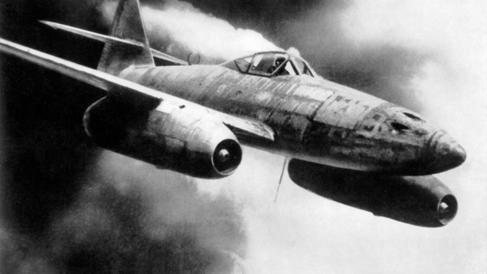 The Messerschmitt Me 262, world's first operational jet-powered fighter aircraft is Dogfight Elite's fourth secret aircraft