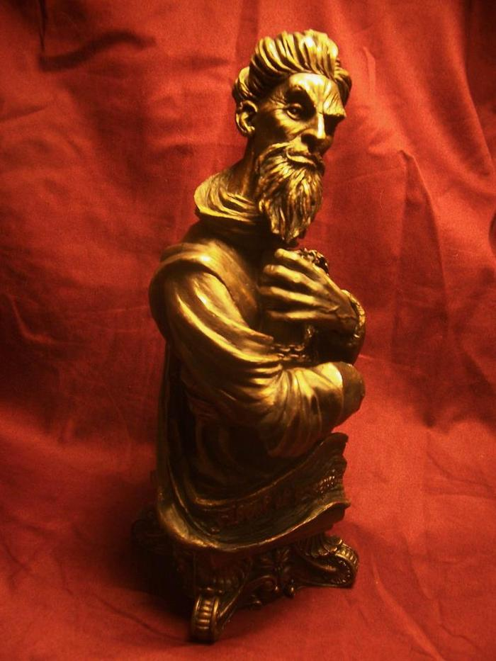 Abdul al Hazred 10-inch bust (author of the dreaded Necronomicon)