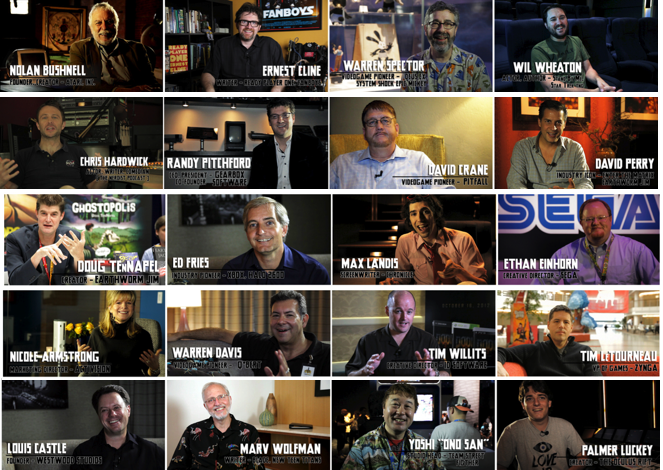 We have filmed interviews with over 100 game developers, industry icons and more!