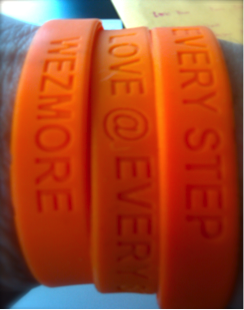 The Wezmore Rubber Wristbands