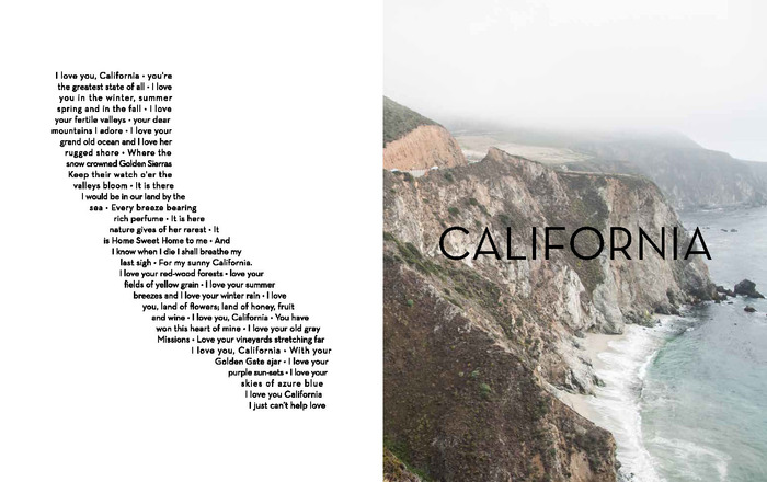 Sample California from photo book