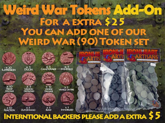 Weird War (90) Token Set