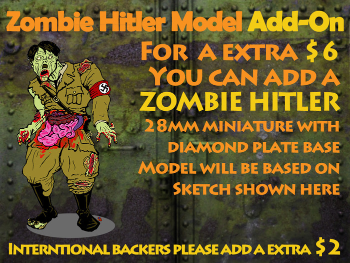 Zombie Hitler Mini