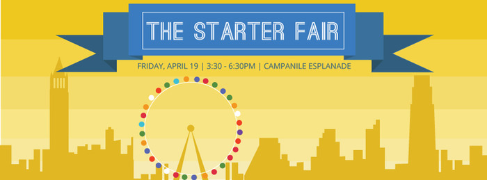"""We are very proud to be invited to UC Berkeley today for """"The Starter Fair"""" hosted by the University's premier entrepreneurship organization, The Delta Class of Sigma Eta Pi Beta Chapter!"""