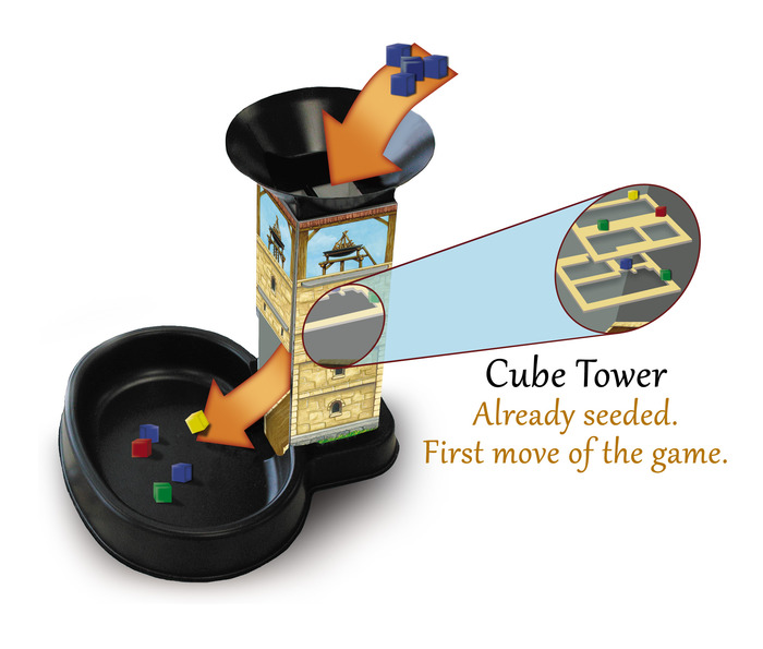dice tower 6 player games