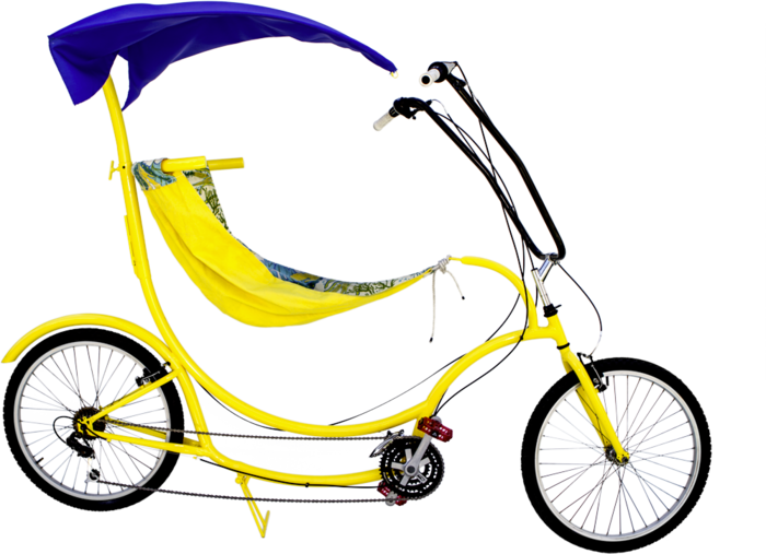 BananaHama Beach Cruiser with Canopy