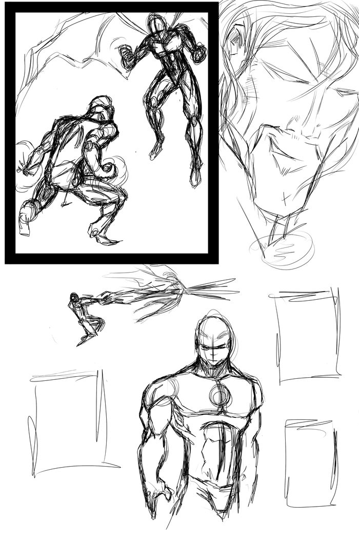 Random Sketch Page!!! This could be your story!!!