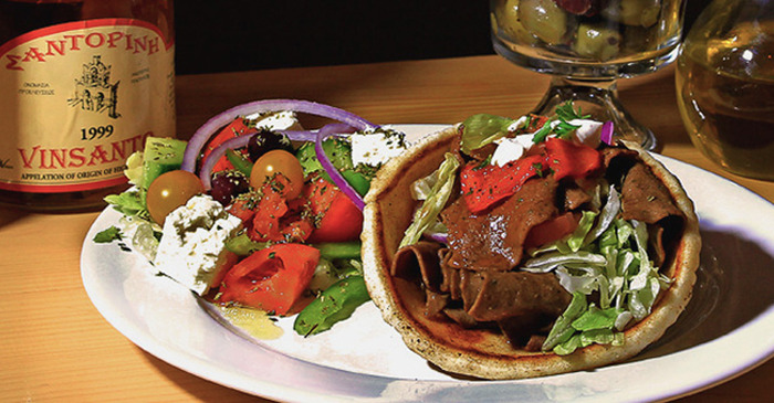 Our Lamb Gyro plate !!