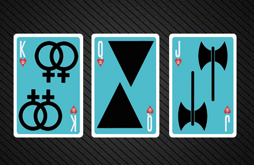LGBT Playing Cards Face Design