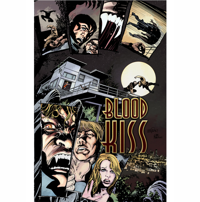 Tom Mandrake's Blood Kiss Poster