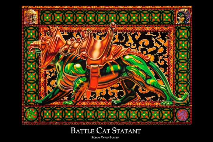 "Battle Cat Poster (available in 24""x36"" and 12""x18"")"