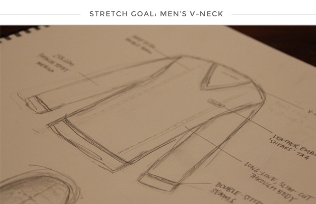 The Cambridge Man V Neck - 100k stretch goal option 2